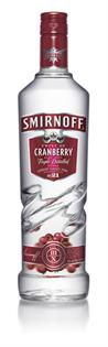 Smirnoff Vodka Cranberry 1.00l